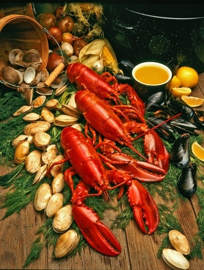 Cape Cod Lobster Clambake!