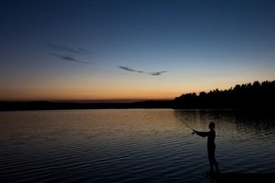 Nighttime Fishing
