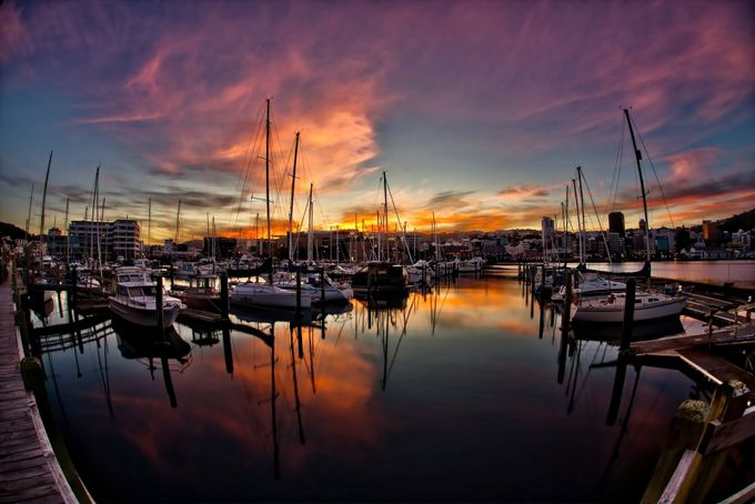 SunSet by indi001 - Sunset In The City Photo Contest