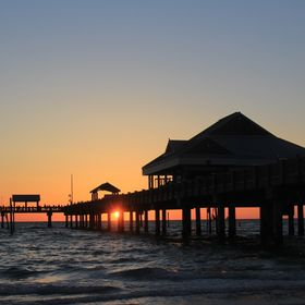 Sunset over Pier 60, Clearwater Florida