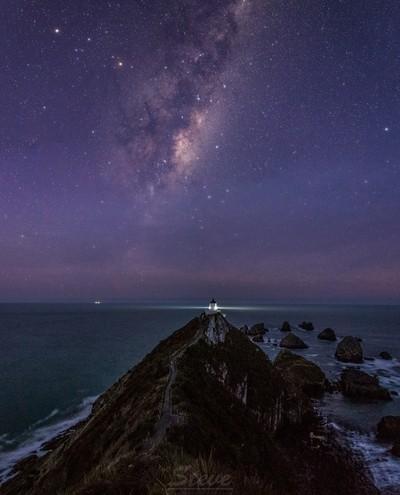 Nugget Point Astro Twilight