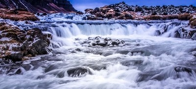 Timeless Waterfall