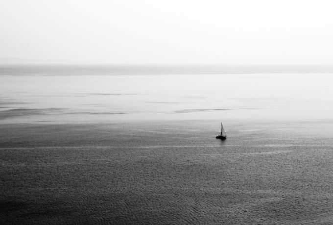 Alone to the infinite by MatteoRotta - Composing with Negative Space Photo Contest