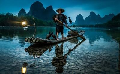 Warrior - Mr Huang Last of China's Cormorant Fisherman