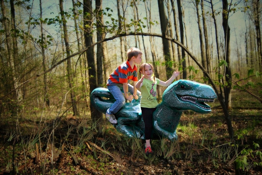 Corbin and Serenity are Baby T Rex Trainers