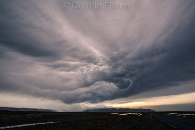 Epic Sky Over Eyjafjallajokull #3 by conniefisher_3790 - A Storm Is Coming Photo Contest