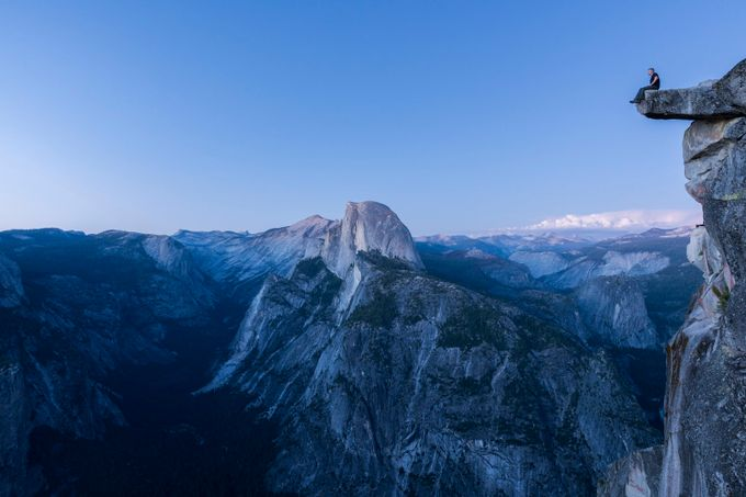 Blue hour at Glacier Point by jasongerard - My Best Shot Photo Contest Vol 3