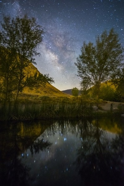 Milky Way Reflection Pond