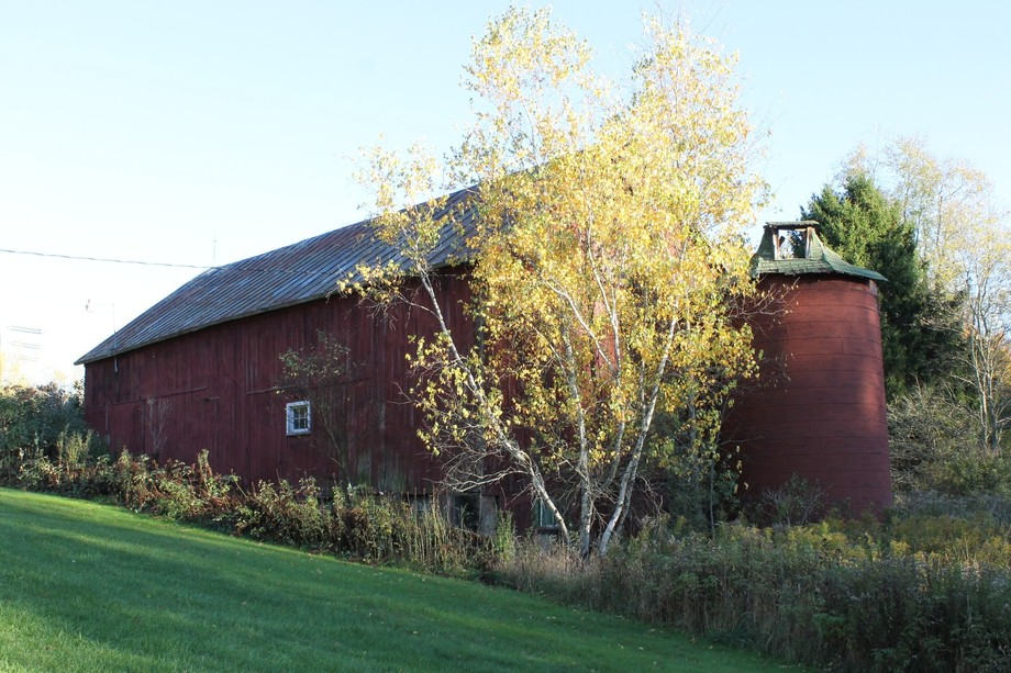 Oct. 2014 N.Y.S. This old barn has stood for many years now and it is still standing this day.