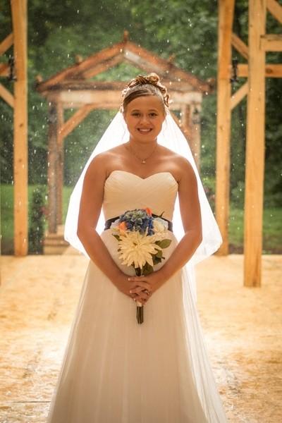 Morgans rainy bridal session