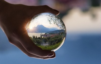 The world in my Hands.