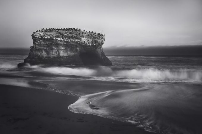 Though the Tides May Turn by lauriesearch - Black And White Landscapes Photo Contest