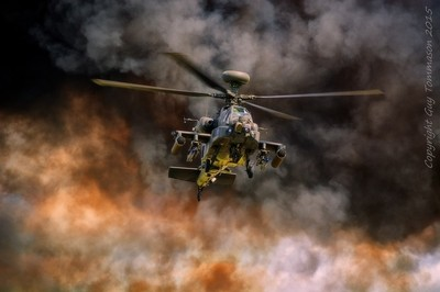 R.I.A.T-2015 Apache Attack Helicopter Display Team