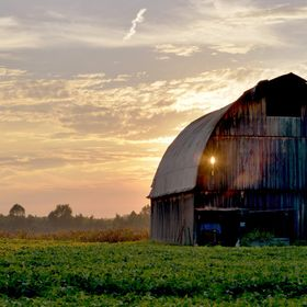Outside of Metropolis, an old barn stands the test of time.  According to the farmer, I am just one of many who have stopped to set up a tripod. ...
