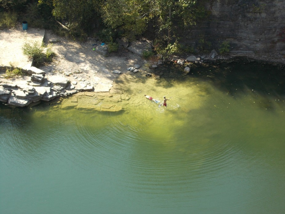 Secret Swim Hole.