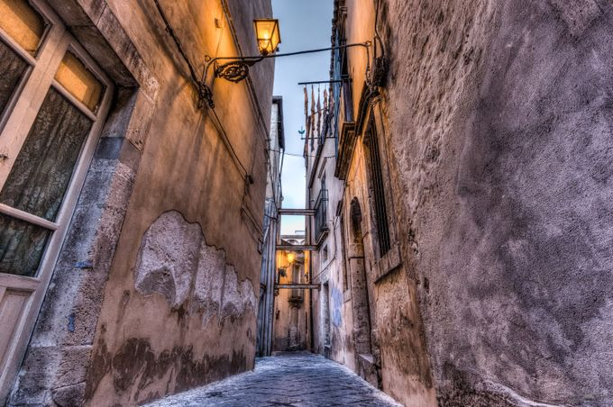 Little Street :: Ortigia, Sicily by regnaphoto - Classical Architecture Photo Contest