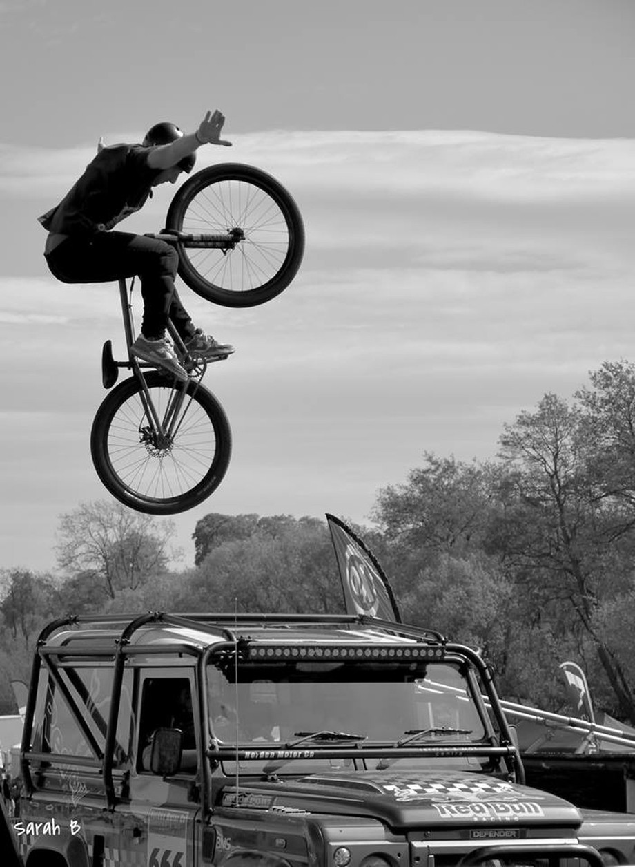 Stunt Bike by SarahBurns - Outdoor Action and Adventure Photo Contest by Focal Press
