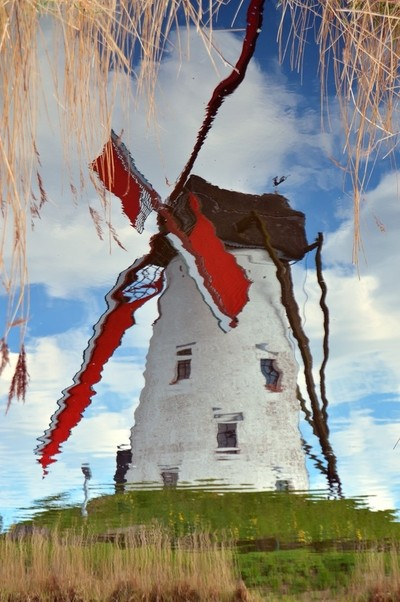 Windmill in the Water
