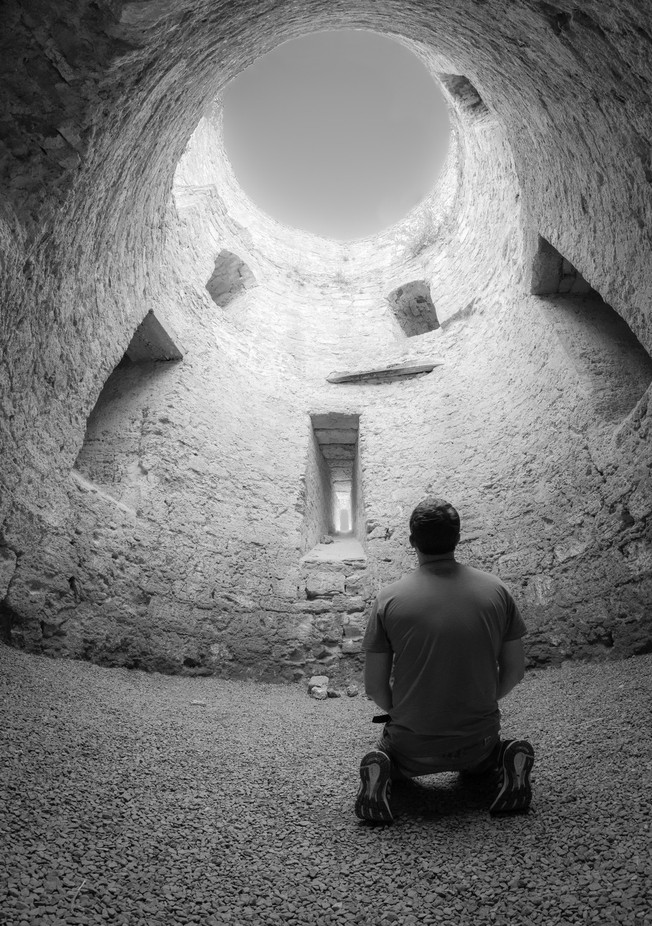 Alone in the tower by Megabrain - Faith Photo Contest with Scott Jarvie