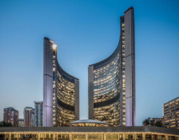 Toronto City Hall by krisvockler - Tall Structures Photo Contest