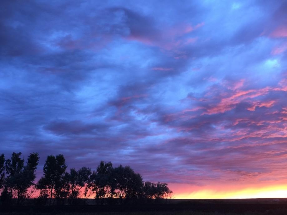 Northern Montana Sunrise