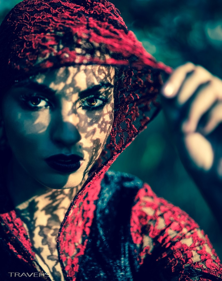 Cheeky Lace by traversbell - Dark Portraits Photo Contest