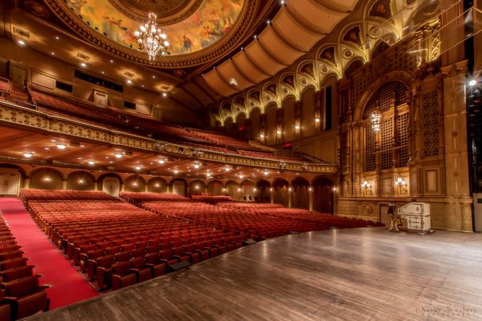 Orpheum Theatre Stage Left by xavierw - High Ceilings Photo Contest