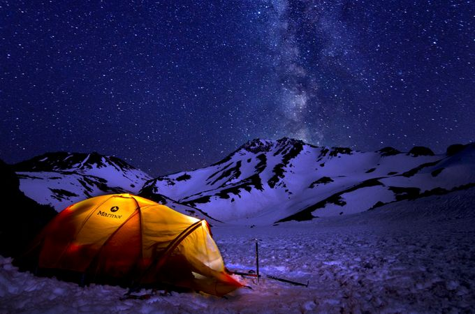 Base camp  by DustinPenman - Adventure Land Photo Contest Outside Views