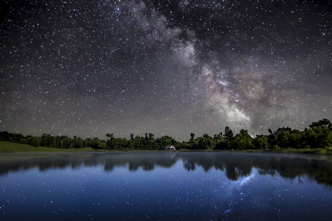 Midnight Reflections by JasonHolden - Nature And The Night Photo Contest