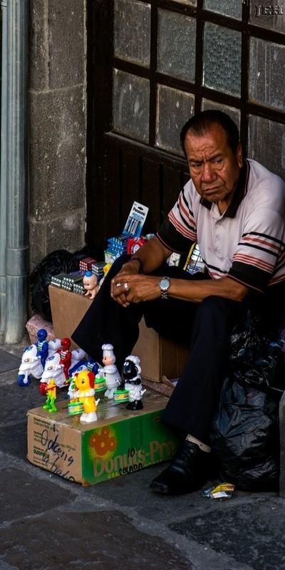 Toy salesman