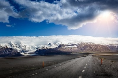 Roads on Iceland