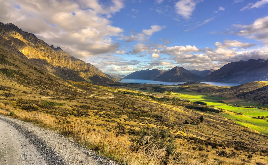 I took this photo whist attending a photography workshop with Trey Ratcliff in Queenstown, New Ze...
