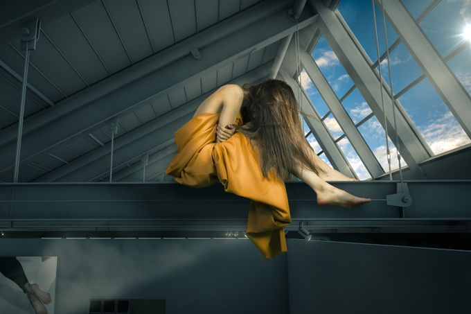 The Loft feat Luiza Doll in the Roof by Fotoart_Nicolas_Carbenay - Fantasy In Color Photo Contest