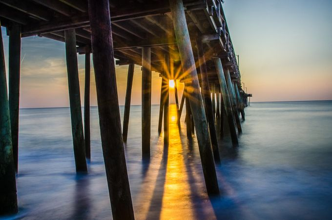 Morning has Broken Through by charliewilson - The View Under The Pier Photo Contest