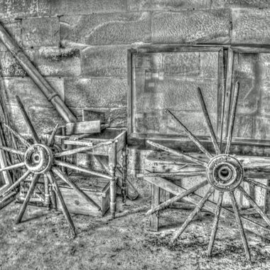 Wheels of Time Black & White