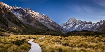 Path to Mt Cook