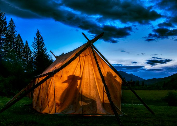 Home on the Range by ClaudiaKuhn - Outdoor Camping Photo Contest