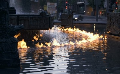 Water on fire 2