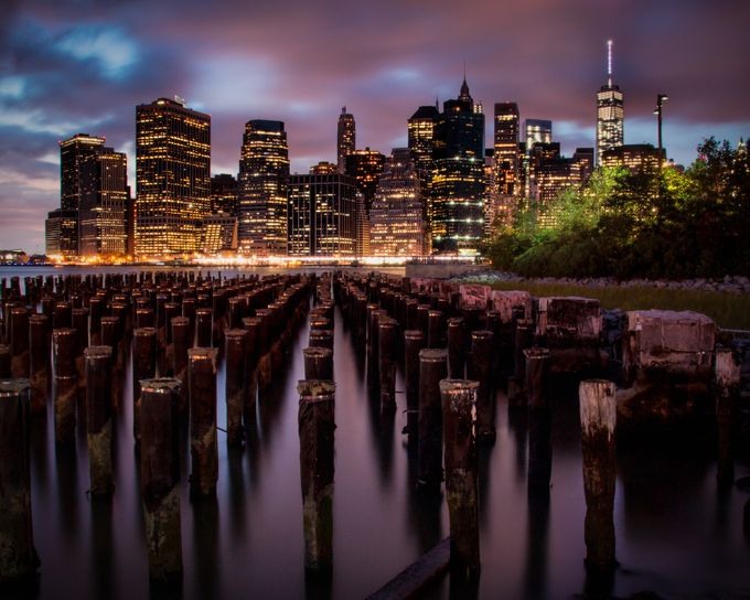 View from Pier 1 by stuartist - Color In The Night Photo Contest
