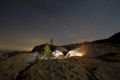 Camping at Paradise Lake