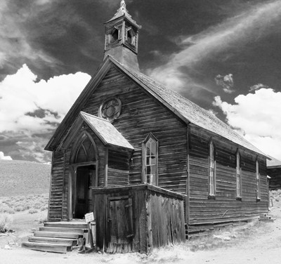 Ghost Town Church in Bodie