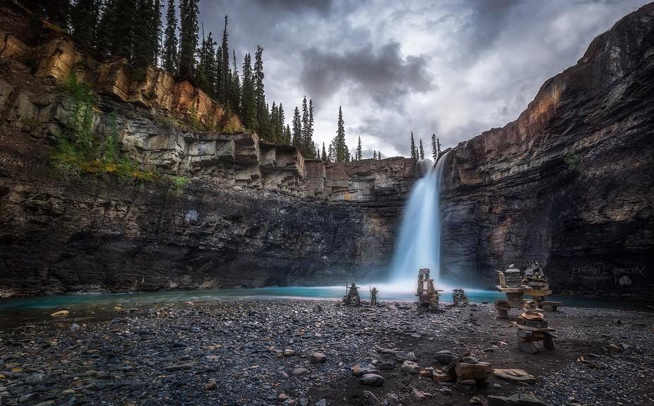 Crecent Falls Alberta, Canada.