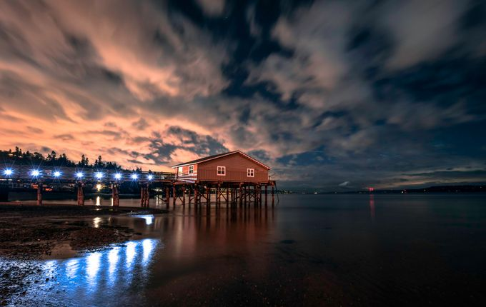 Late Night by larryrogers - Cloudy Nights Photo Contest