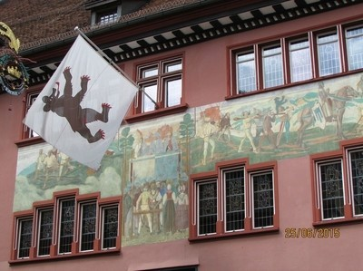 historic building in Appenzell, Switzerland
