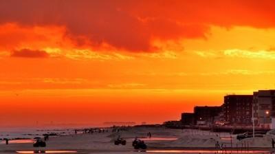 Sunset Hurricane Ivan Long Beach
