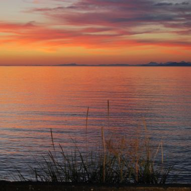 Sunset in Qualicum - August 1st, 2014