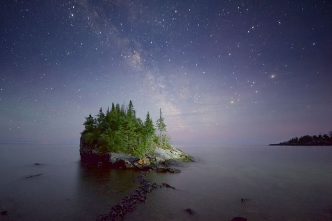 Milkyway by lakevermilionphotos - Islands Photo Contest