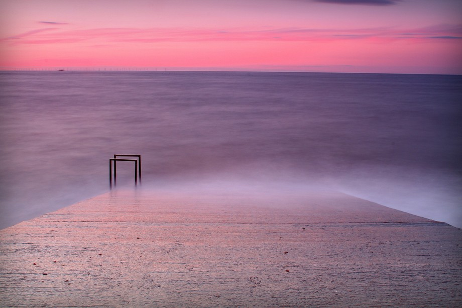 Quite like this, just a quick long exposure at the beach