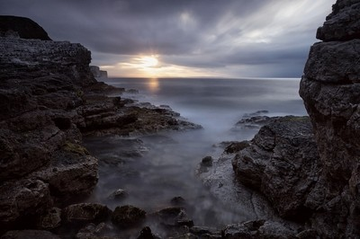 Thornwick Bay Sunset