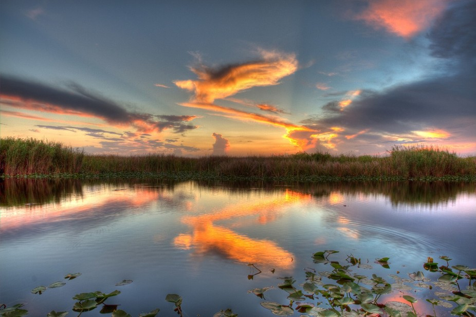 Found a boat ramp that I was able to setup my tripod near to capture this gorgeous sunset in the ...